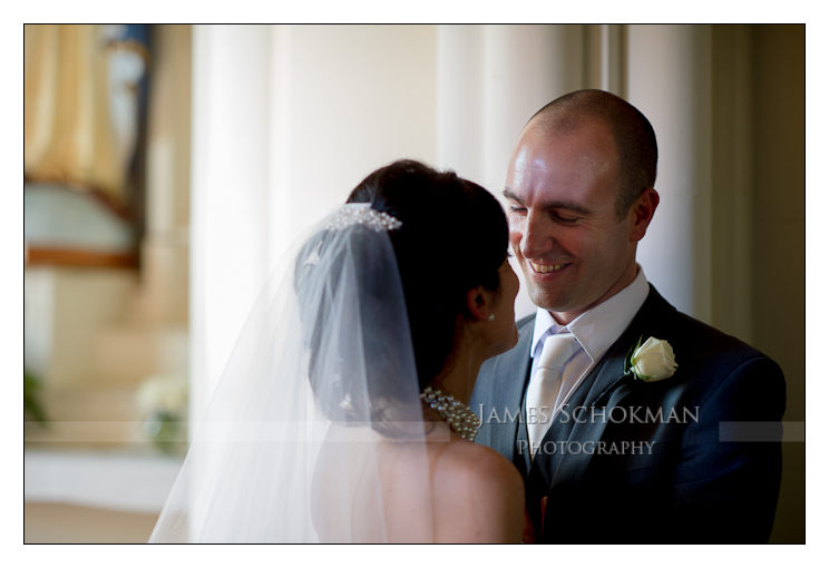 happy couple at wedding in perth