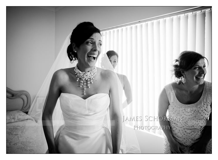 bride to be getting ready perth