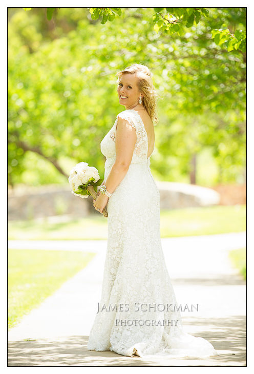 beautiful bride at millbrook