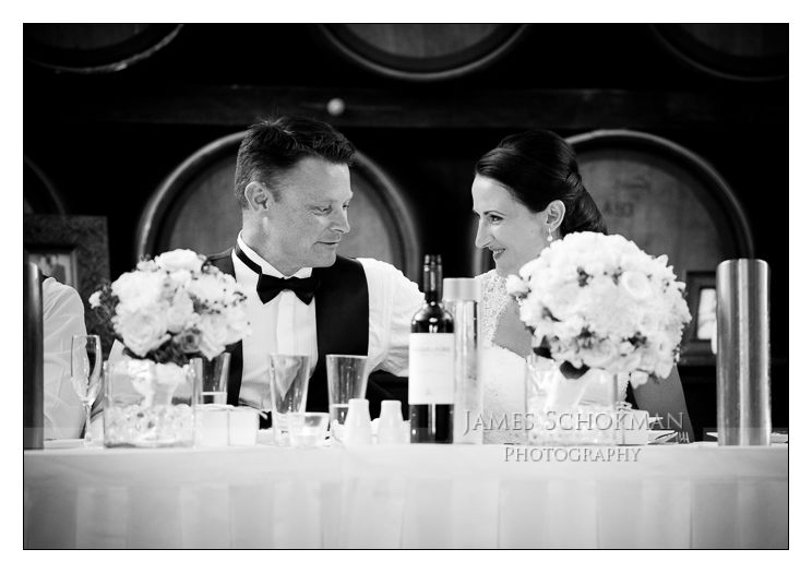 black and white bridal table sandalford