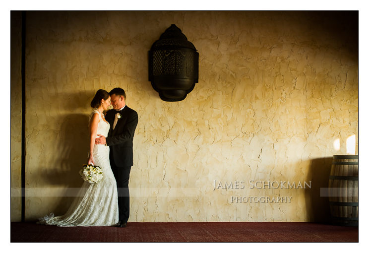 beautiful wedding photography at sandalford, bridal portrait by james schokman