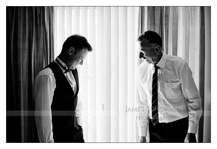 hyatt hotel perth wedding groom portrait