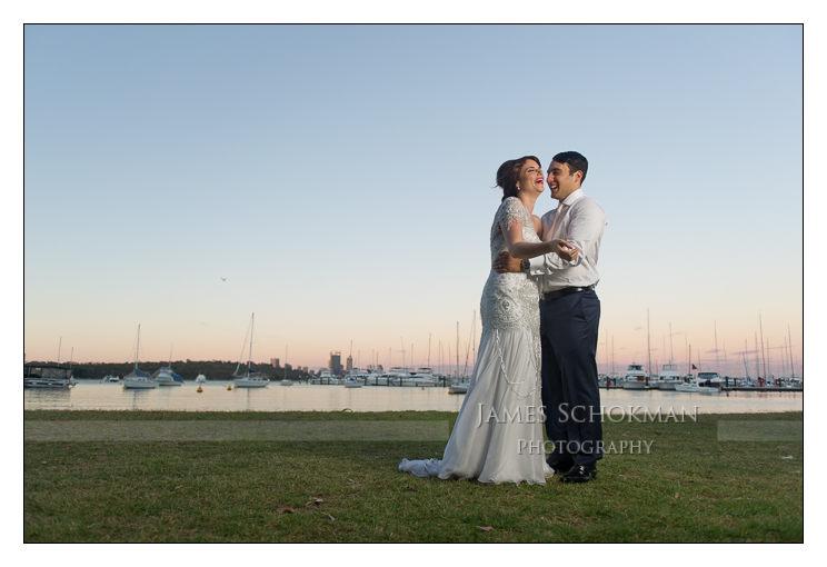 matilda bay wedding photography perth